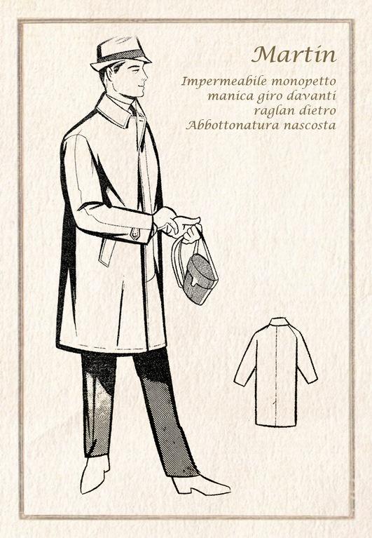 premium selection ca3e3 a7c1d Impermeabile – L'Impermeabile – Trench coat